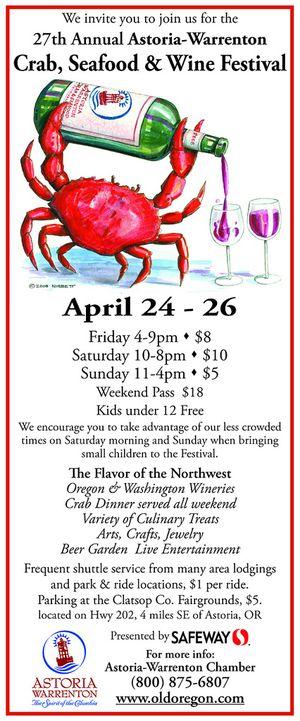 Astoria seafood festival