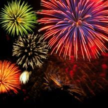 Oregon gardens fireworks