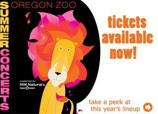 Zoo summer concert series