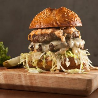 Metrovino burger