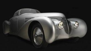 Car show art museum