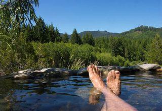 Breiten bush hot springs