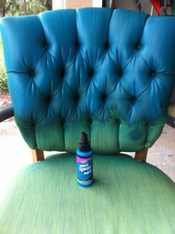 Tulip fabric spray to repaint upholstery