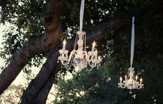 Chandelier-in-tree