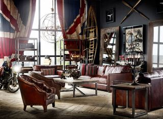 Luxury-leather-furniture-for-vintage-look